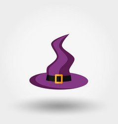 witch hat halloween vector image