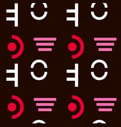 Military discipline seamless pattern vector