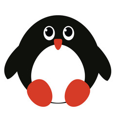 A cute penguin or color vector