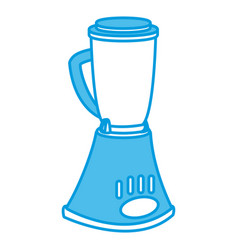 blender kitchen appliance vector image