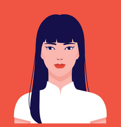 China gogo2 boloportrait a young beautiful vector