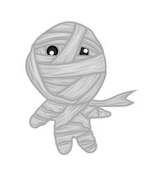 cute mummy vector image