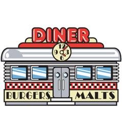 Diner vector