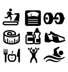 Fitness and sport vector