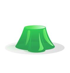 Green jelly vector