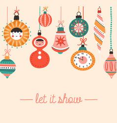 new year festive social media banner vector image