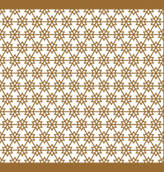 Seamless abstract patterngeometric lines on white vector