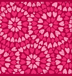 seamless background romance decorative pattern vector image