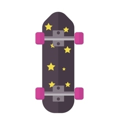 Skateboard board isolated vector image