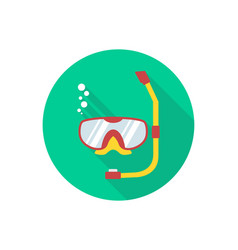 snorkel icon sign symbol vector image