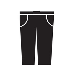 trousers icon sign design vector image