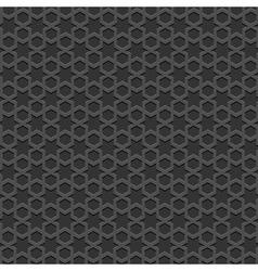 Black textured Islamic pattern vector image