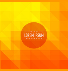 Beautiful bright orange background vector