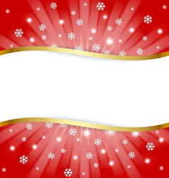 christmas document template vector image