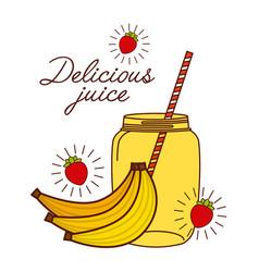 Delicious juice design vector