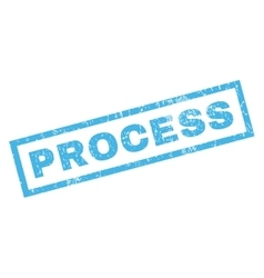 Process Rubber Stamp vector