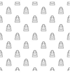 Shopping bag pattern seamless vector