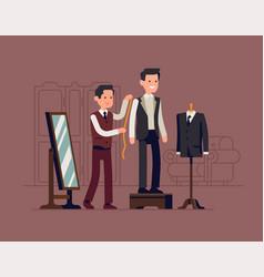 Tailorshop concept vector