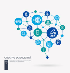 Science laboratory test research innovation vector