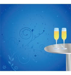 champagne celebrations vector image vector image