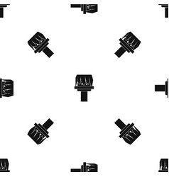 Box magic pattern seamless black vector
