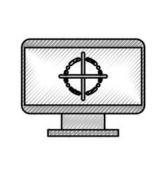 Computer electronic work vector