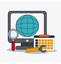 Digital Marketing design ecommerce vector
