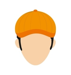 Golf player icon vector