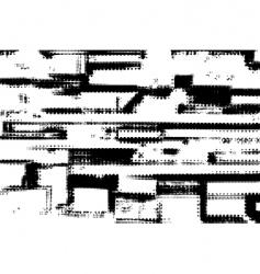 Grunge halftone vector
