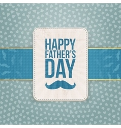 Happy Fathers Day Pattern Background Template vector