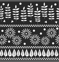 seamless pattern greeting card backdrop vector image