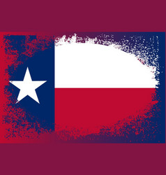 texas state oval grunge vector image