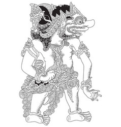 wahmuka vector image