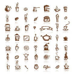 coffee company vector image
