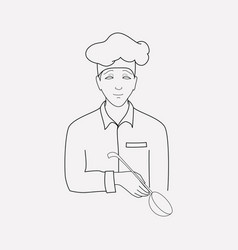 cook icon line element of vector image
