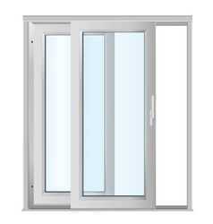 door - realistic vector image