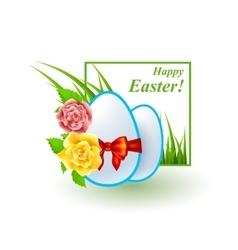 Easter good design bright set vector image