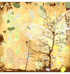 grunge background natural vector image
