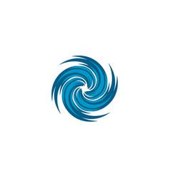 Hurricane logo typhoon logotornado logo wind vector
