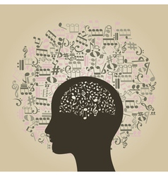 Musical Mind vector