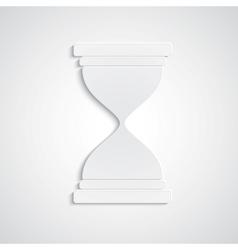 Paper hourglass vector