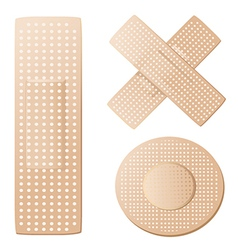Plasters vector image