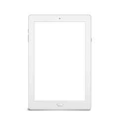 tablet computer mobile device for work vector image