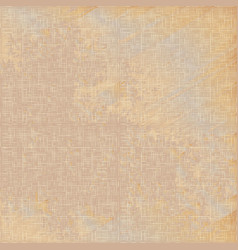 grunge beige linen texture seamless pattern vector image