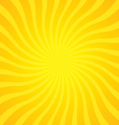 popular gold color twist rotate ray background vector image vector image
