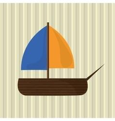 toy icon design vector image