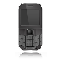339 Qwerty Mobile vector image vector image