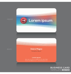 Business cards Name card Design Template vector image