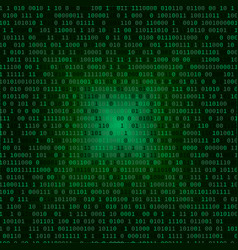 binary code internet security concept vector image