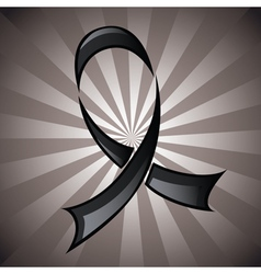 Black Ribbon Background vector